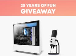 Win a NZXT Starter Pro Gaming PC, NZXT Capsule Microphone and 25 Steam Game Keys or 1 of 5 Minor Prizes
