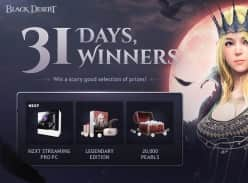 Win a NZXT Streaming Pro PC or 1 of 30 Black Desert Online Runner-up Prizes