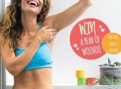 Win a Pack of 8 Woohoo All Natural Deodorants