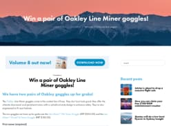 Win a pair of Oakley Line Miner goggles!
