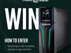 Win a PowerShield Gladiator Gaming UPS