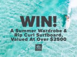 Win a Rip Curl Surfboard