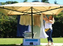 Win a Rotary Clothesline and Cover