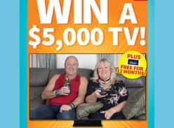 Win a Samsung Smart TV & Disney+ Subscription