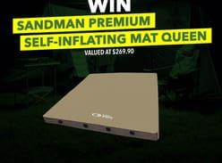 Win a Sandman Premium Self-Inflating Mat Queen