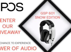 Win a Sennheiser EPOS GSP 301 Gaming Headset & GSX 300 Snow Edition External Sound Card