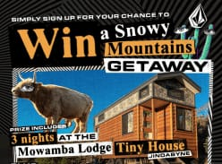 Win a Snowy Mountains Getaway for 2