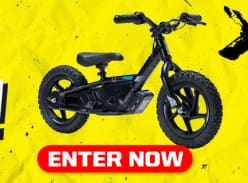 Win a Stacyc 12/16 Edrive Electric Bike