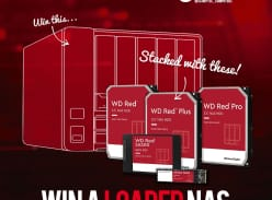 Win a Synology DS920+ NAS with WD Red 32TB HDD