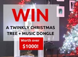 Win A Twinkly Christmas Tree + Music Dongle