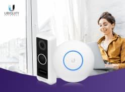 Win a Ubiquiti UVC-G4-Doorbell & UAP-NANOHD Access Point