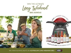 Win a Weber Family Q Premium Gas BBQ