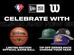 Win A Wilson 75th Edition All Leather Game Ball and a New Era Tip off Pack