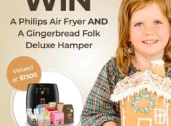 Win a XXL Philips Air Fryer and a Deluxe Gingerbread Folk Hamper