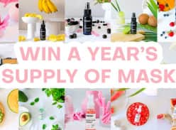 Win a Year supply of Mask!