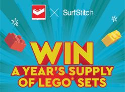 Win a year's supply of LEGO sets