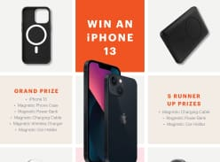 Win an iPhone 13 + Cygnett Magnetic Prize Pack