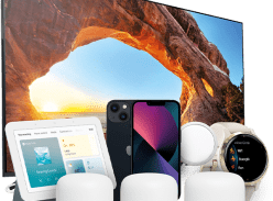 Win an iPhone 13, Google Nest Hub, Sony X85J 55