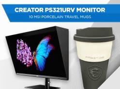 Win an MSI Creator PS321URV 32