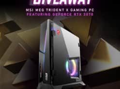 Win an MSI MEG Trident X gaming PC featuring a NVIDIA GeForce RTX 3070