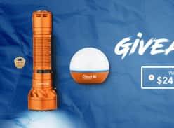 Win an Olight Freyr Orange & Obulb Orange Torch