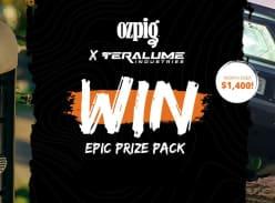 Win an Ozpig $1400 Adventure Pack