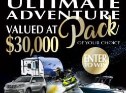 Win an ultimate adventure pack of your choice