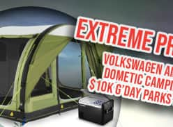 Win an X-treme Camping Combo Package incl a Volkswagen Amarok V6