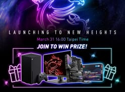 Win an Xbox Series X, MSI Optix Monitor or MSI MPG Z590 GPU