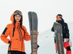 Win Limited Edition Superdry x Gilson Skis or Snowboard
