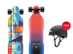 Win Possway V4 Electric Skateboard and Vans Sneakers