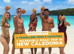 Win Return Flights to Nouméa for 2