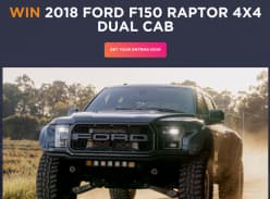 Win this one of a kind F150 Raptor!