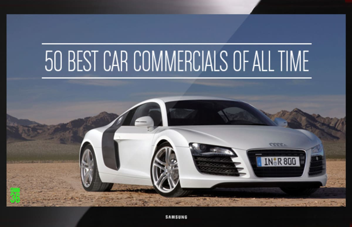 Attractive The 50 Best Car Commercials Of All Time | Complex