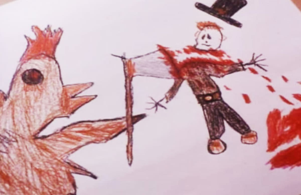 The 15 Most Fcked Up Kid Drawings in Horror Movies Complex