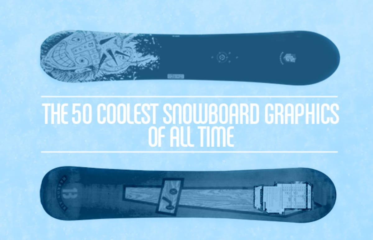 The 50 Coolest Snowboard Graphics Of All Time Complex