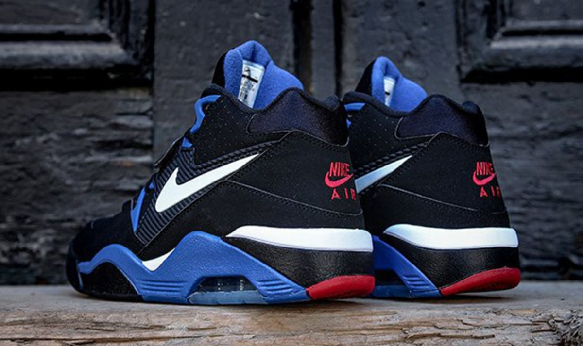 ... Olympic Release Of 2016  Nike Air Force 180 Black Sport Royal White Red  Complex ... c8e488036d
