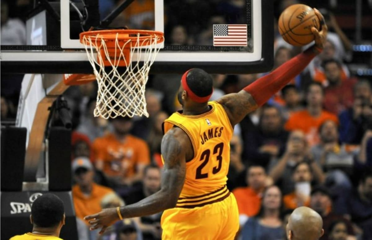 LeBron James Says Dunk Contest Isnt His Flavor