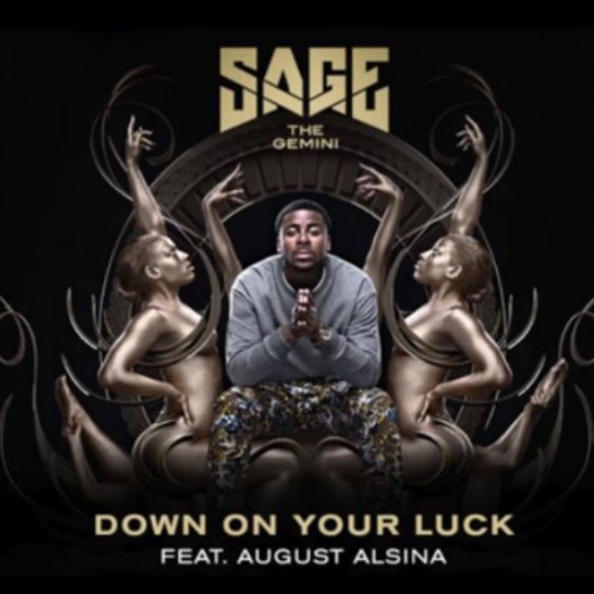 Sage The Gemini Links Up With August Alsina On Down On Your Luck