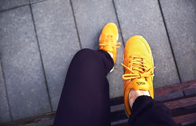 Gel Shots V Youtube Lyte On Feet Asics Of Black Tan 6wfqv