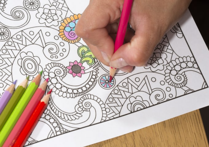 Believe It Or Not Adult Colouring Books Are Topping Amazon Canadas Most Wished For And Bestseller Lists In Canada The Addictive Patterned Made Up