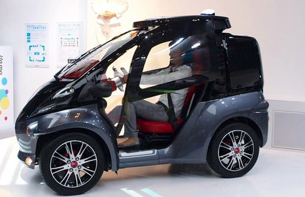 Toyota Unveils One-Seater Smart INSECT at Japanese Tech Show   Complex