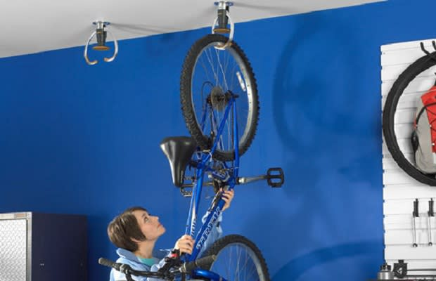 help wheel bikes by hang bike on wall horizontal hanging a forum front ceilings how studentservices from club ceiling the to