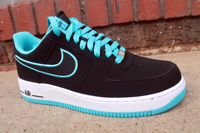 AIR FORCE - Sneaker low - turquoise