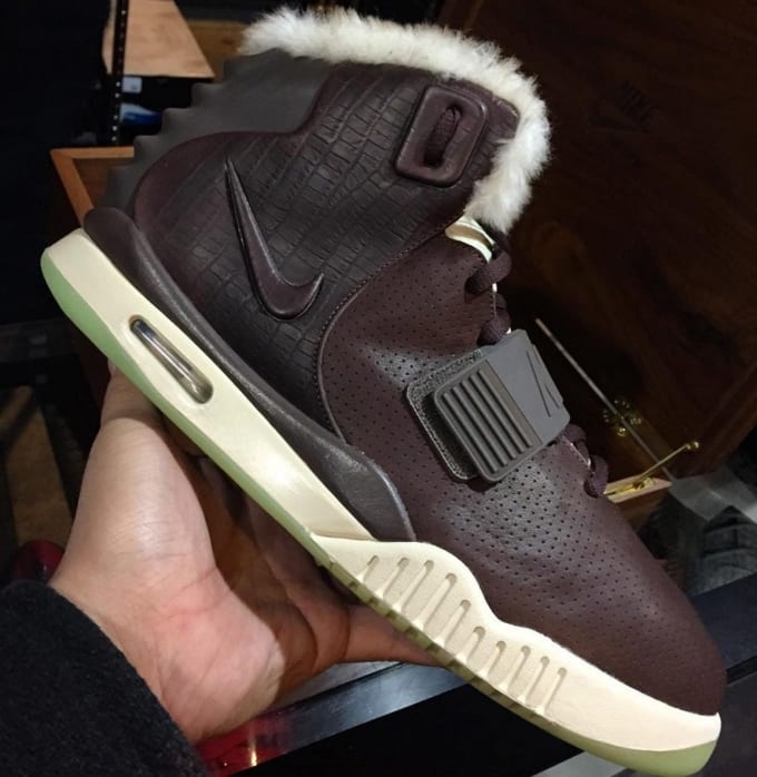 3c8300a2588 ... nike air yeezy 2 one of one fur lined sample complex