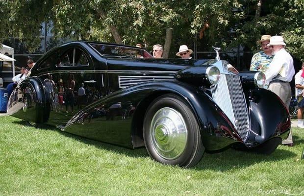 1938 Peugeot 402 Pourtout Darl'Mat Roadster - 25 Stunning Art Deco