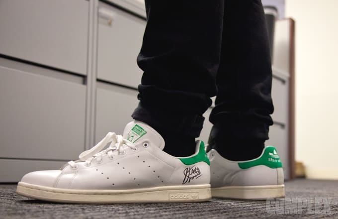 stan smith shoes worn