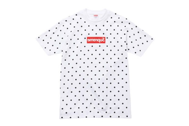 Over The Weekend A Collaboration Between Supreme And Rei Kawakubos COMME Des GARCONS SHIRT Was Announced Heres Closer Look At What We Can Expect