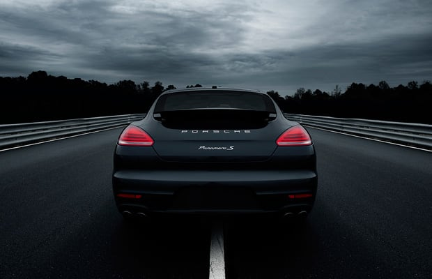 2014 Porsche Panamera Turbo Base Price: $141,300. Engine: 4.8L V8 Power:  520hp. Torque: 516 Lb Ft. Basically: A Sports Car In A Sedanu0027s Body.
