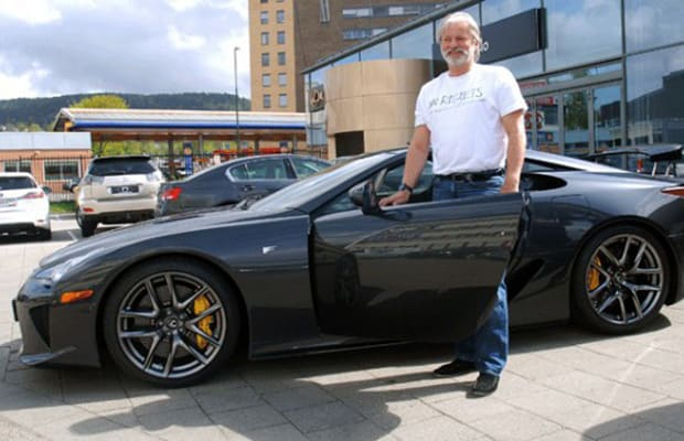As If Owning A Lexus LFA Supercar Werenu0027t Badass Enough, A Man By The Name  Of Rune Berge Vik Proved Just How Superior He Is By Getting His Town To  Actually ...